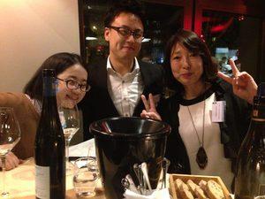 神戸のワイン輸入元社長、キャンペーン優秀店ソムリエ、百貨店バイヤーも^^